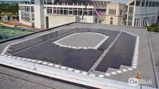 Solar Array Installation At Ohio State University's Student Life Rpac