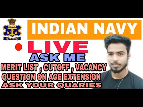 Indian Navy Fetch Job Live   Ask Your Quaries