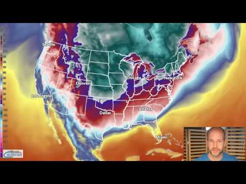 Wednesday WX VLOG 12/27/2017: Arctic Air on the way but no moisture to work with.