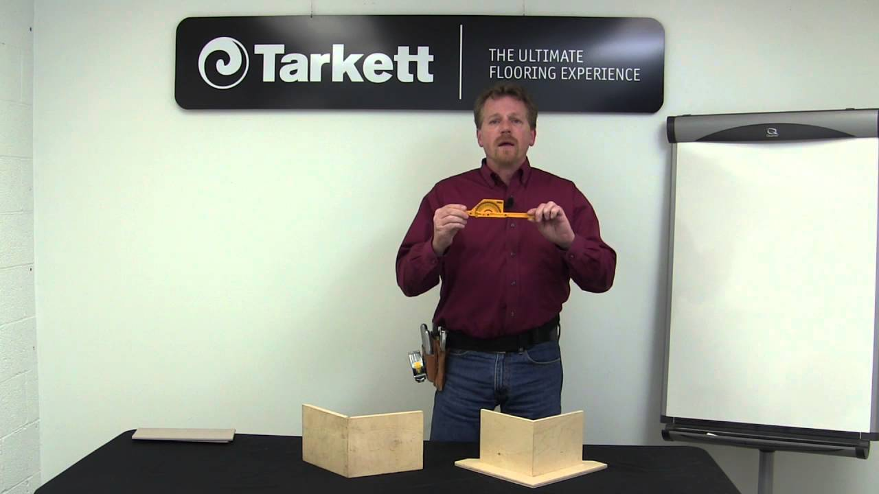 Youtube Chair Rail Part - 39: Mitering Johnsonite Millwork And Chair Rail - YouTube