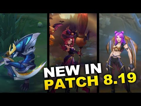 New Changes in Patch 8.19 ready for WORLDS! (League of Legends) thumbnail