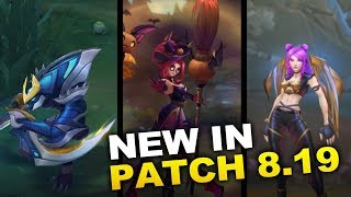 New Changes in Patch 8.19 ready for WORLDS! (League of Legends)