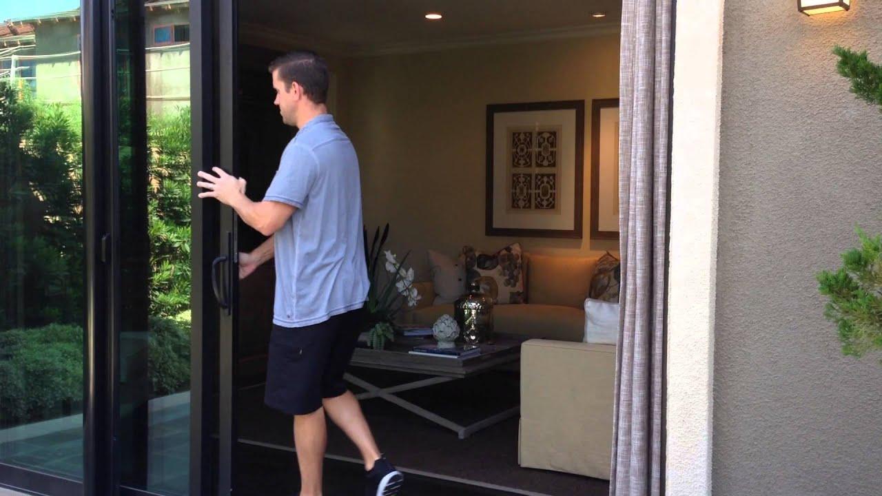 Large Opening Retractable Screen Doors Video Youtube