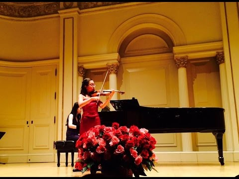 Abigale Wee - Violin - Hoe-Down - A. Copland - Carnegie Hall
