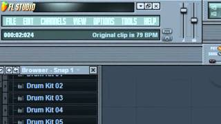 FL Studio Tutorials - Pitching Samples In The Piano Roll