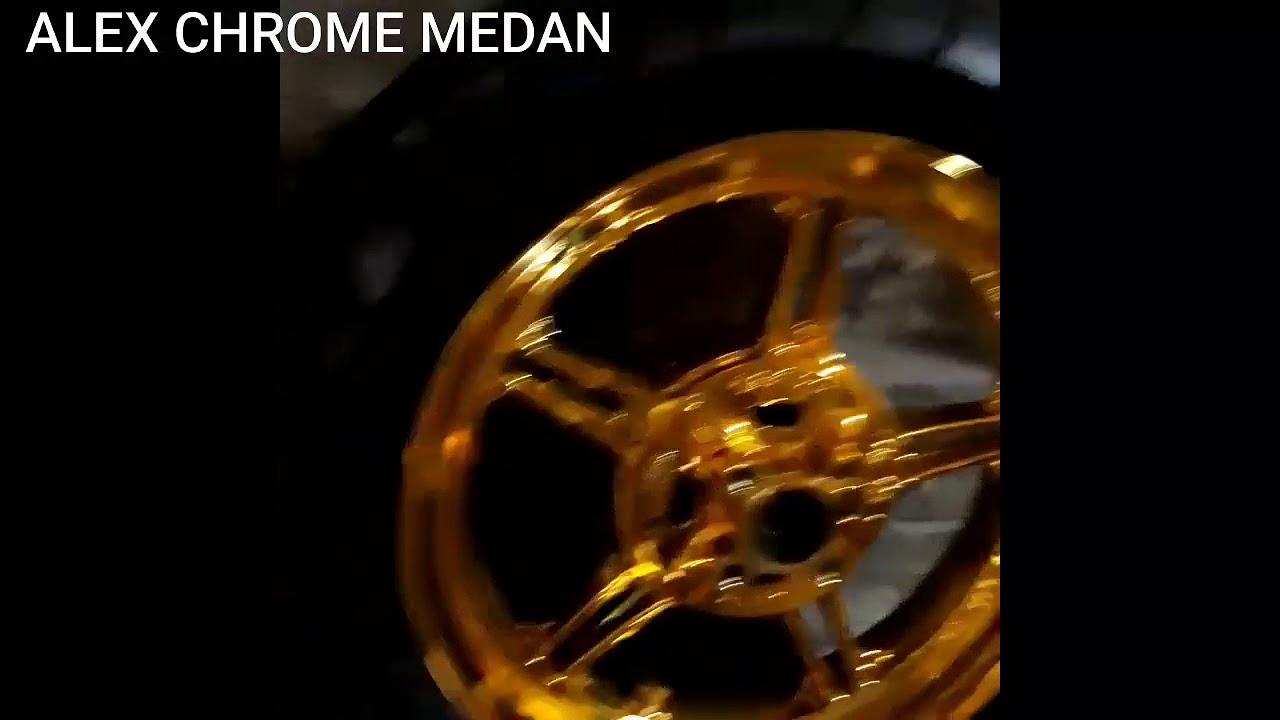 Chrome Gold velg