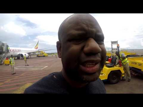 First Time In Africa: Flying To Kampala Uganda (Vlog 15)