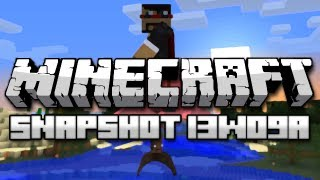 Minecraft: Flying Witches, Rideable Slimes, and More! (Snapshot 13w09a)