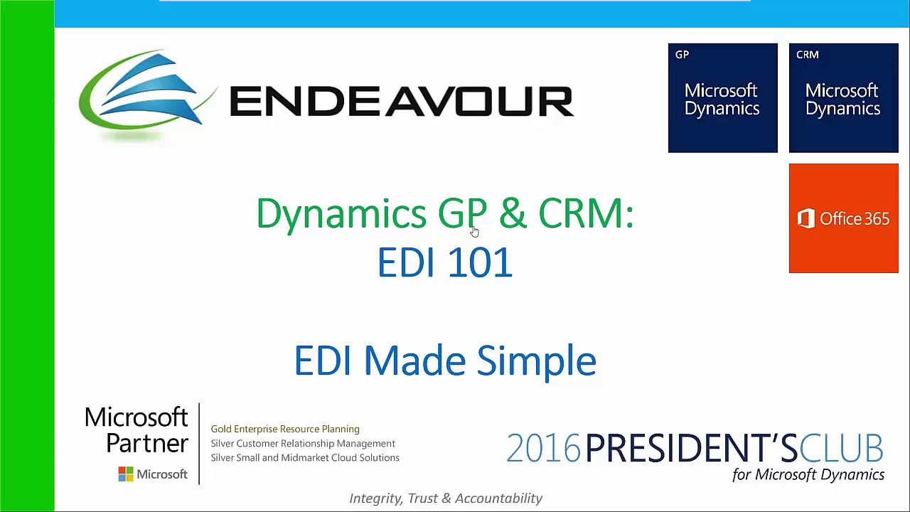 EDI for Microsoft Dynamics GP, NAV and Business Central