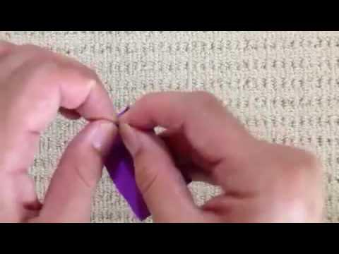 ハート 折り紙:折り紙えんぴつ折り方-youtube.com