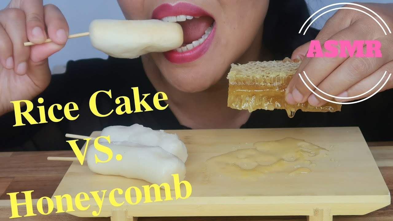 Asmr Rice Cakes Vs Honeycomb Eating Sounds No Talking