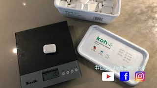 Unboxing and testing KOH new dishwasher tablet EkoWorx KOH  - Does it work?