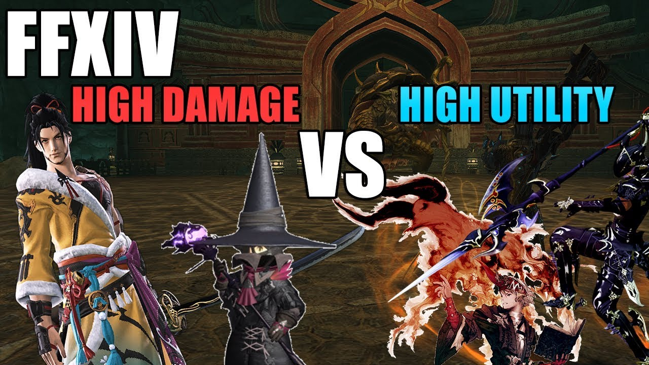 High DPS Jobs or High Utility Jobs? (FFXIV 4 3 Commentary)