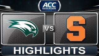 2013 ACC Football Highlights | Wagner vs Syracuse | ACCDigitalNetwork