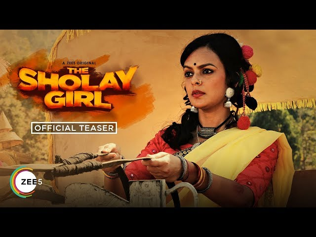 The Sholay Girl | Official Teaser | A ZEE5 Original | Bidita Bag | Streaming Now On ZEE5