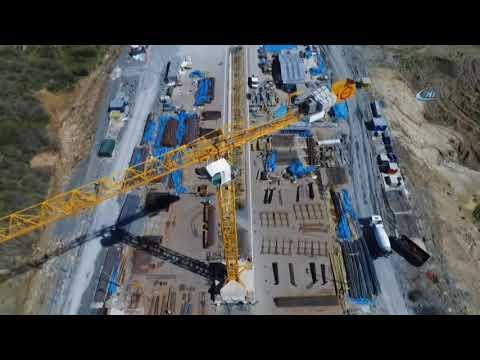 Kuzey Marmara Otoyolu İnşaatının Son Durumu Havadan Görüntülendi