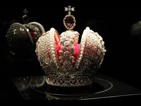 Replica of the Imperial Crown of Russia at the Hermitage Amsterdam