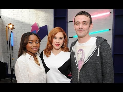 Katy B 'Little Red' interview Live@KISS