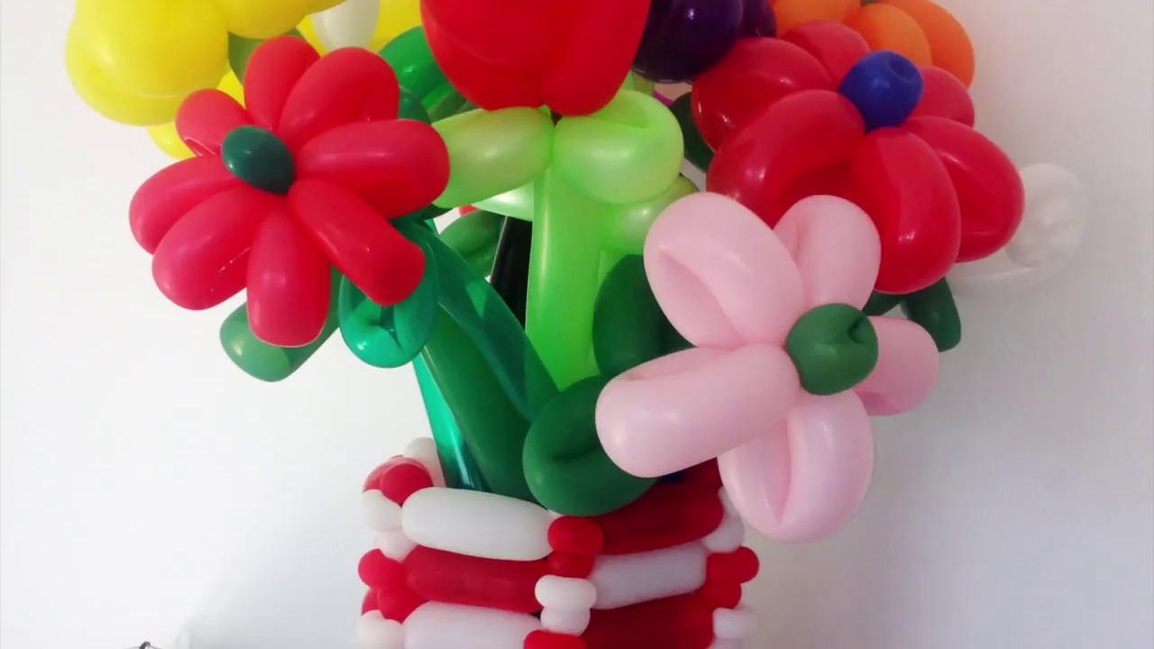 3 Flower Balloon Tutorial With Michael Bennett Youtube