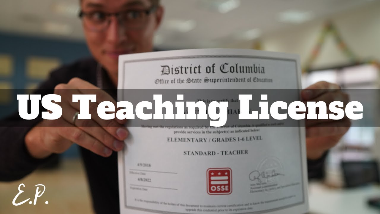 How To Get American Teaching License Online From Anywhere In The