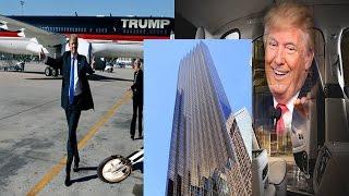 ডোনাল্ড ট্রাম্প বিলাস বহুল জীবনের চিত্র যা দেখলে অবাক হবেন | Donald Trump | Bangla News Today