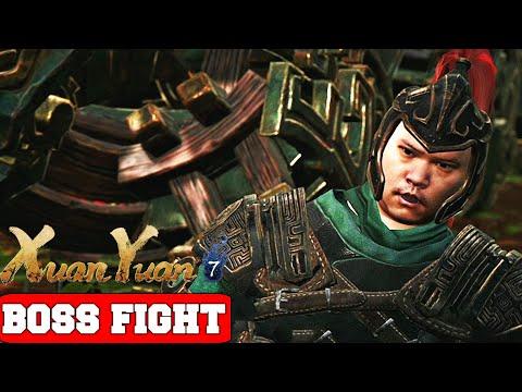 Xuan-Yuan Sword VII Sun Ke Boss Fight (PC High Settings)  