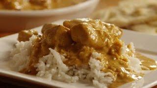 Курица по-индийски в сливочном соусе