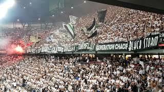 STURM GRAZ Fans lassen in Klagenfurt die Tribüne wackeln - Cup-Finale, 09-Mai-2018
