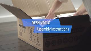 DESK-V201G assembly instructions