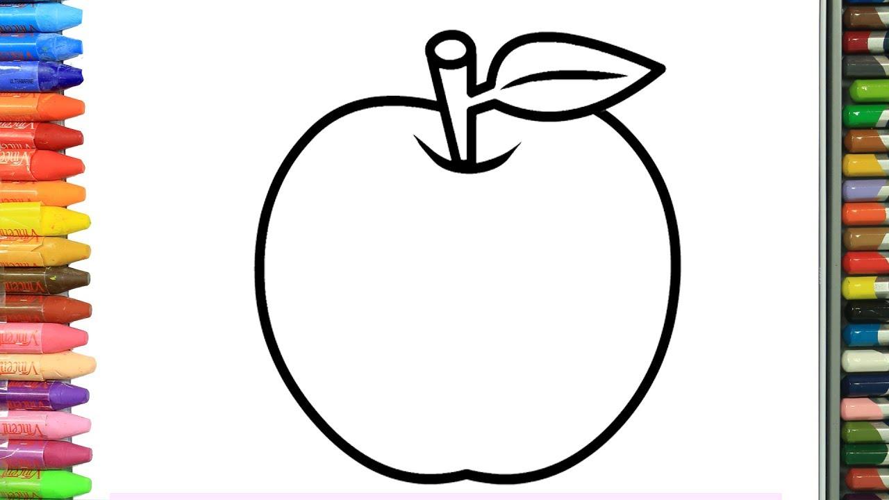 Cómo Dibujar y Colorear manzanas | Dibujos Para Niños | Aprender ...
