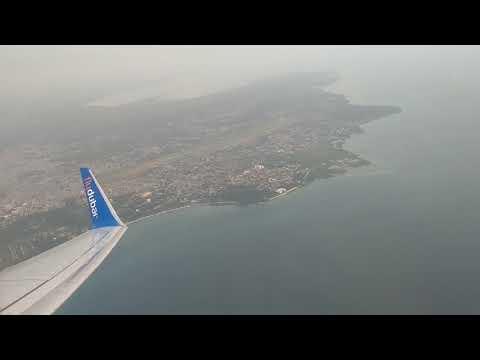 Flydubai flight 687 from Zanzibar (ZNZ) to Dar es Salaam (DAR)