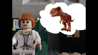 The new dinosaur - Lego jurassic world stop motion