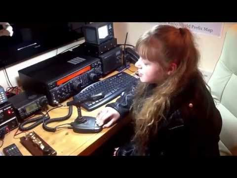 Ham radio UK Belfast MI6YLT YL Summer calling CQ