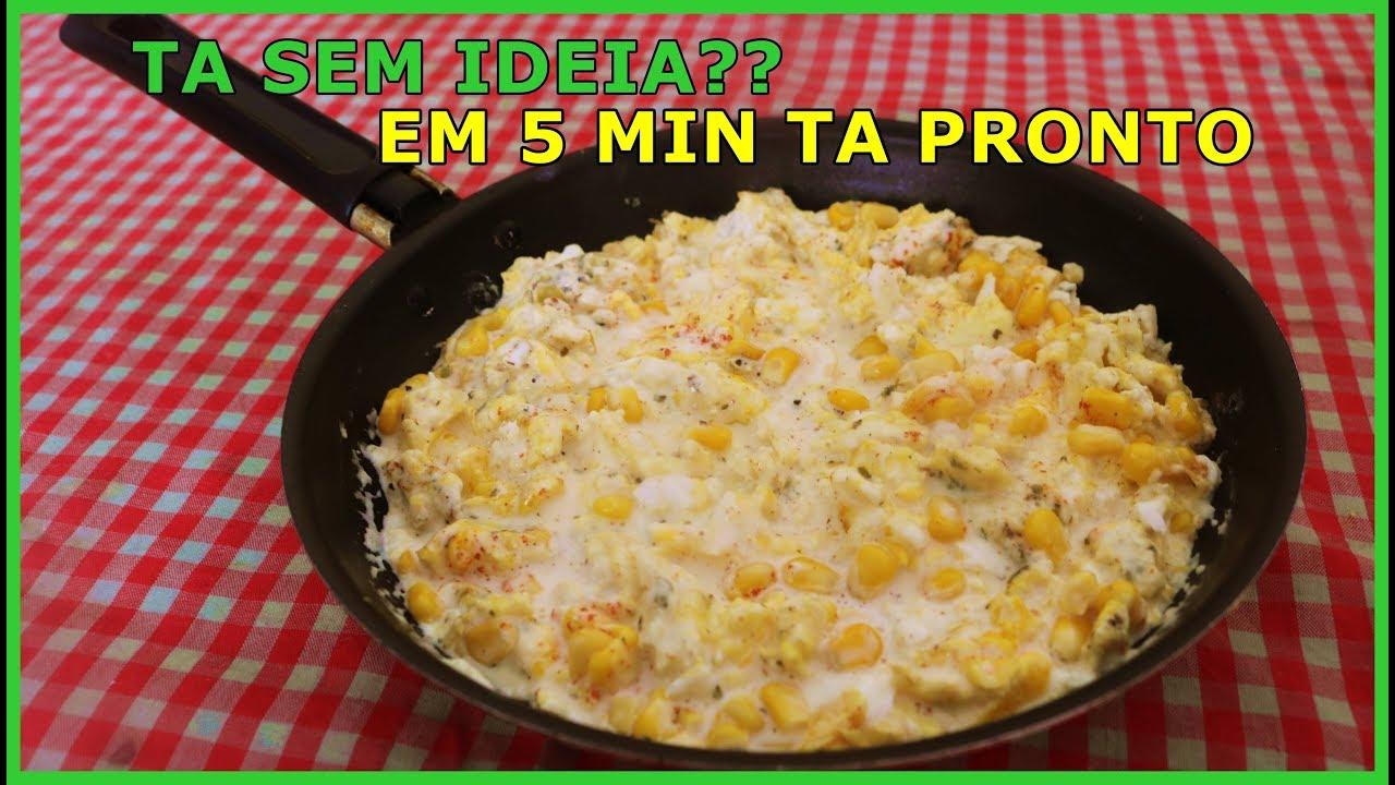 Ta Sem Ideia Do Que Fazer Pra Comer Faça Essa Comida Rápida Em 5 Minutos Youtube
