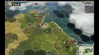 Civilization V Gold Edition PL - Spain (Hiszpania) część 1