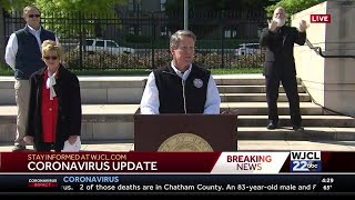 Georgia Gov. Kemp issues shelter in place order