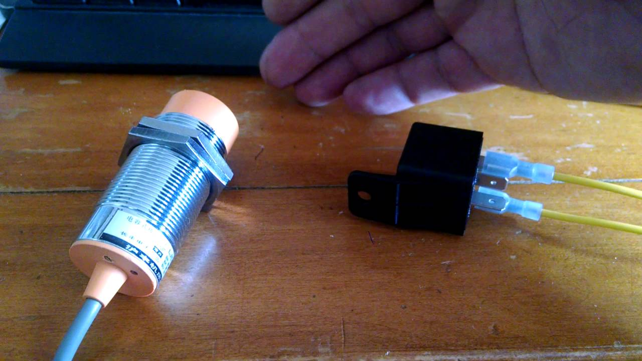 small resolution of proximity sensor and relay