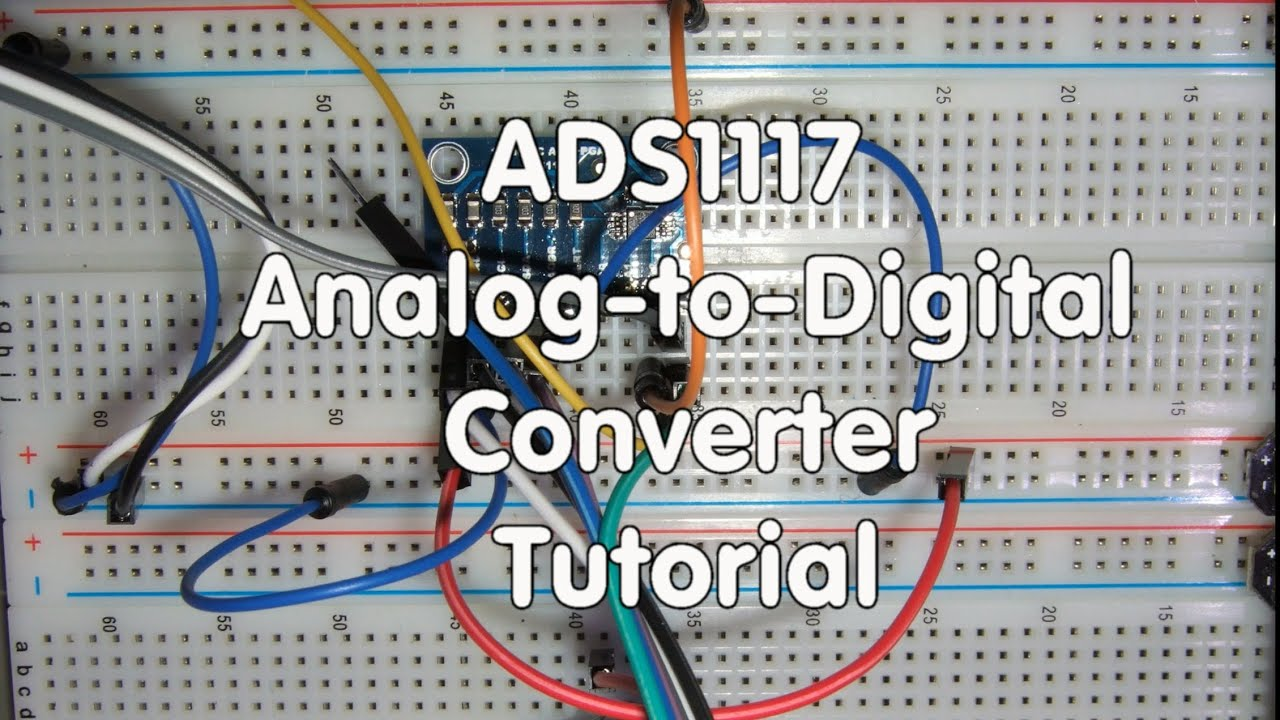 18 Ads1115 Analog To Digital Converter Tutorial Youtube Thermocouple