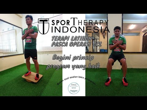 Prinsip Conditioning Training Post ACL Reconstruction