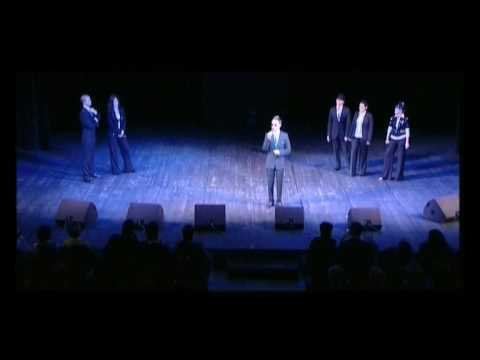 "Moscow Vocal Group ""A'cappella ExpreSSS"" - concert in ""International Music House"" 2009."