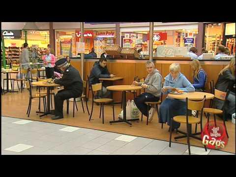 Grandma vs. Policeman FOOD FIGHT!  – Just For Laughs Gags