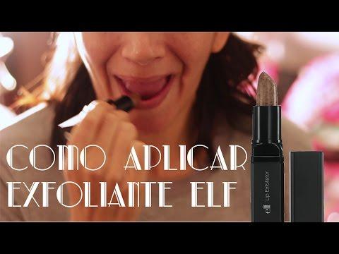 Como aplicar o exfoliante ELF #4