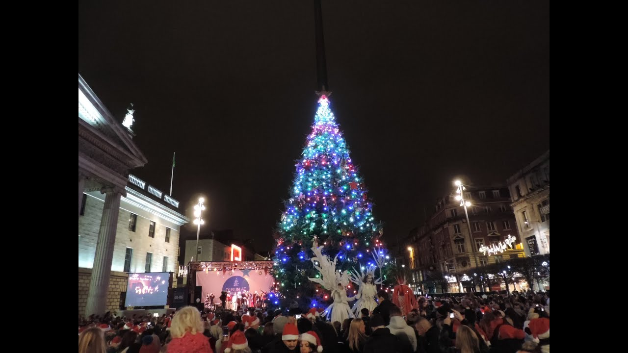 Dublin Christmas Lights 2014 YouTube