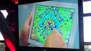 Clash of clans - Edit mode demonstration