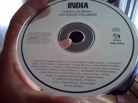 La India - Yemaya Ochun via Eddie Palmieri  '92   Analog CD