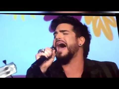 """What's Up"" Adam Lambert 10/7/17 Point Honors HD edit"