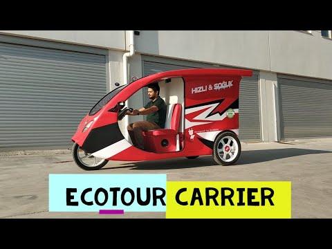 Ecotour Carrier - Solar Powered Car