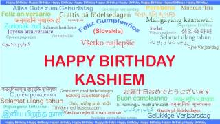 Kashiem   Languages Idiomas - Happy Birthday
