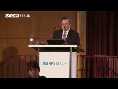 Mario Draghi Lecture at DIW Berlin - 25 October 2016