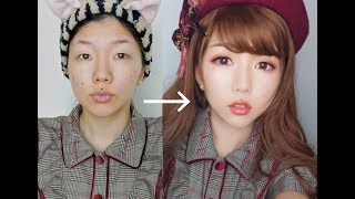 HOW TO LOOK YOUNGER? A soft girly makeup tutorial🍁